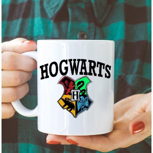 Kubek z nadrukiem Hogwarts