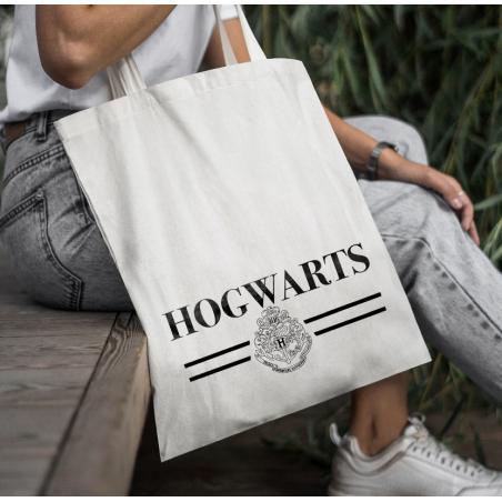 Torba bawełniana Hogwarts black