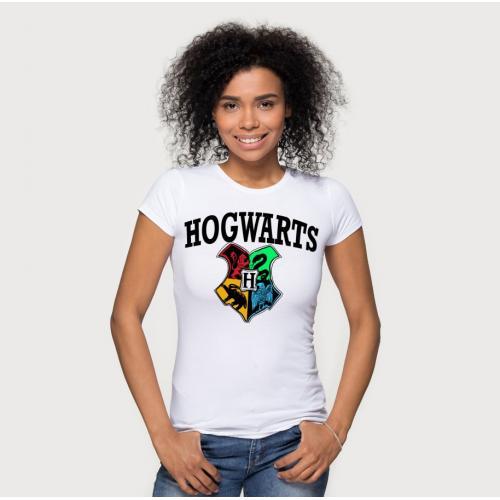 T-shirt lady slim DTG Hogwarts