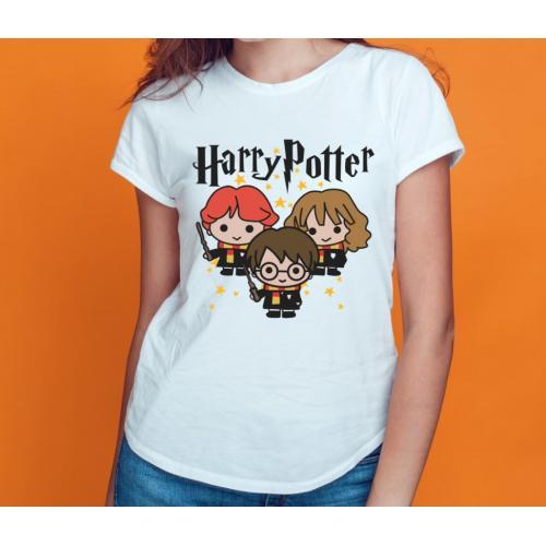T-shirt lady slim HP Funny