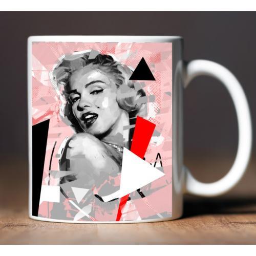 Kubek z nadrukiem Marilyn...