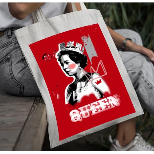 Torba bawełniana Queen E