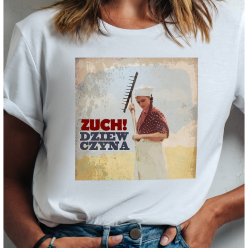 T-shirt lady slim Zuch...