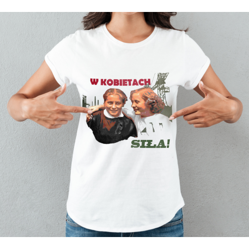 T-shirt lady slim W...