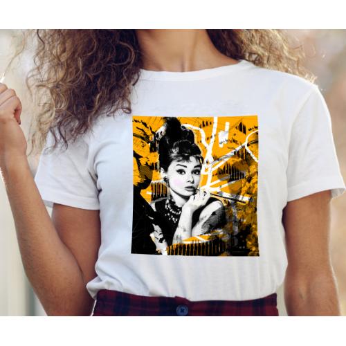 T-shirt lady slim Audrey...