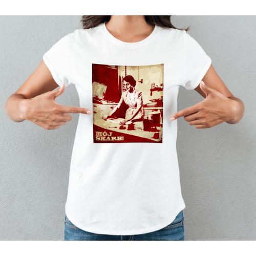 T-shirt lady slim Mój Skarb