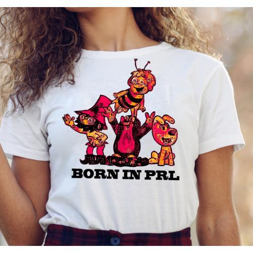 T-shirt lady slim DTG Born...