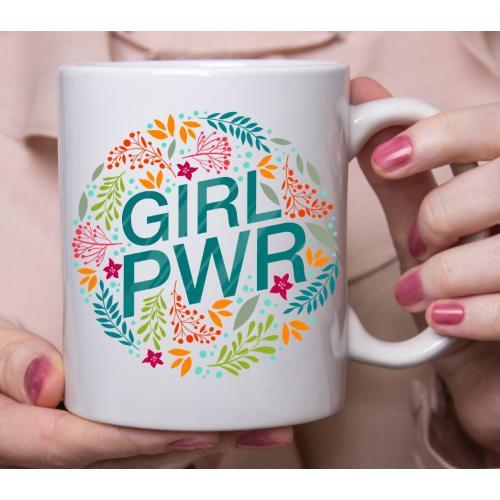 Kubek z nadrukiem GIRL PWR