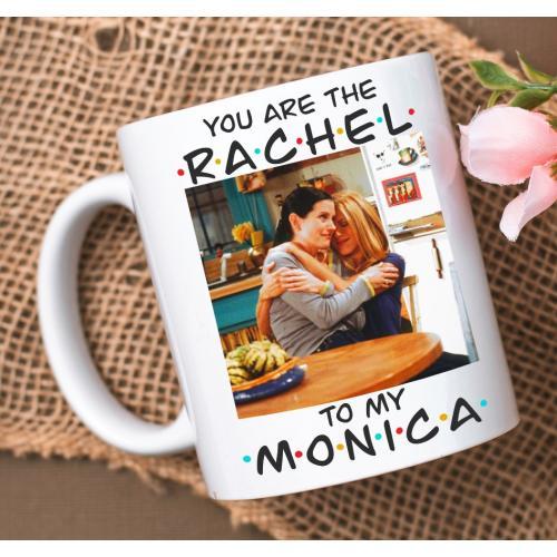 Kubek z nadrukiem Rachel to...