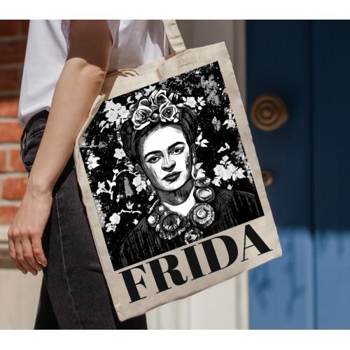 Torba bawełniana Frida black