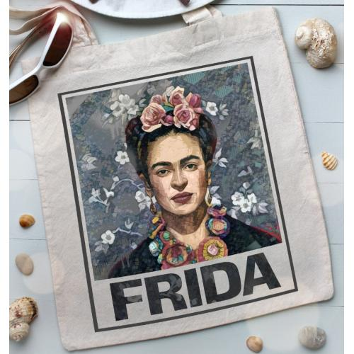 Torba bawełniana Frida blue