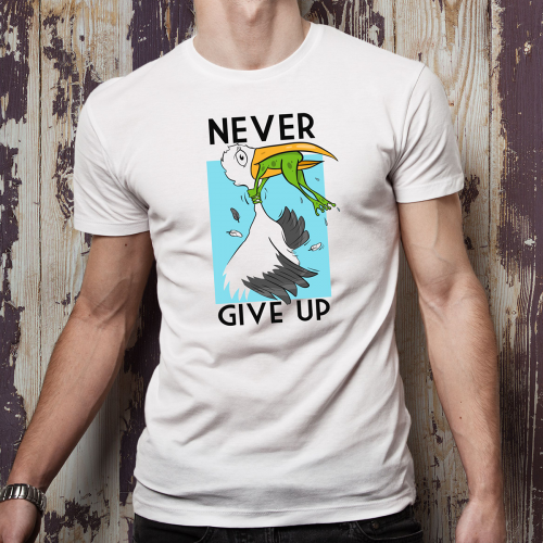 T-shirt oversize DTG never...