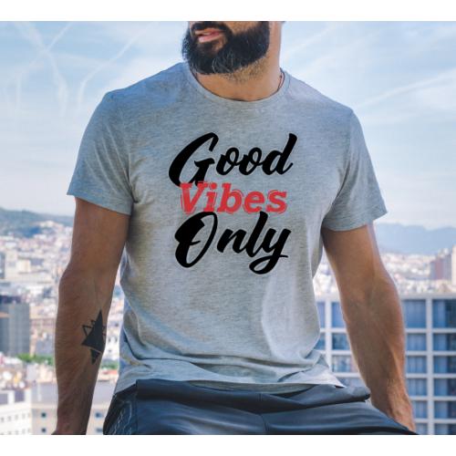 T-shirt oversize szara Good...