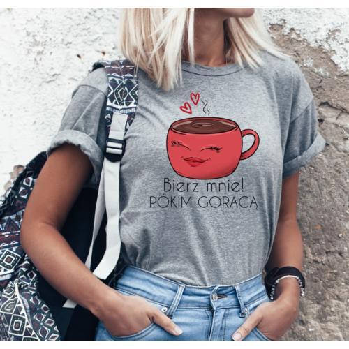 T-shirt lady SZARA Bierz...