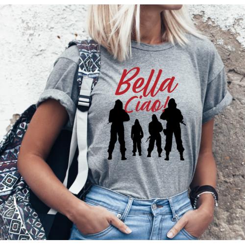T-shirt lady SZARA Team...