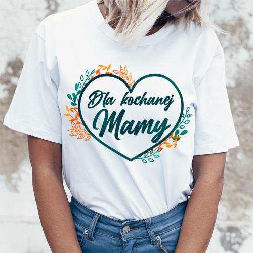 T-shirt lady slim DTG Dla...