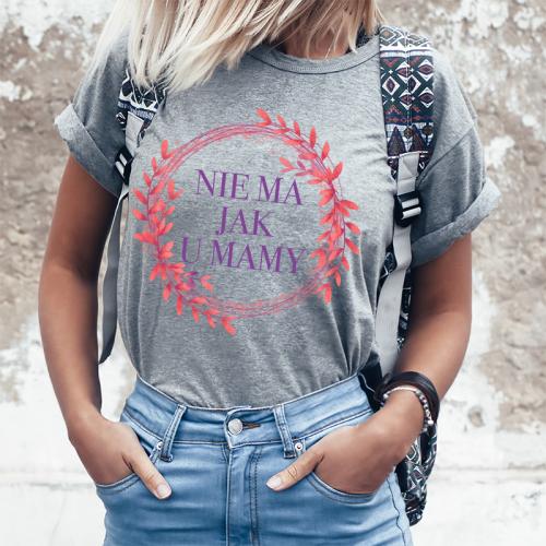T-shirt lady SZARA Nie ma...