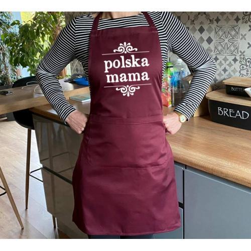 Fartuch dla mamy - Polska mama