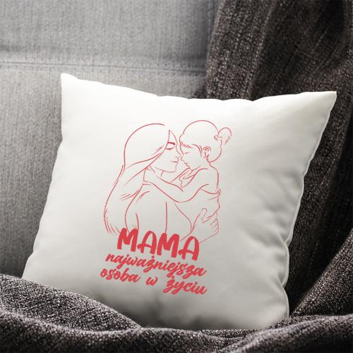 Poduszka druk Mama...