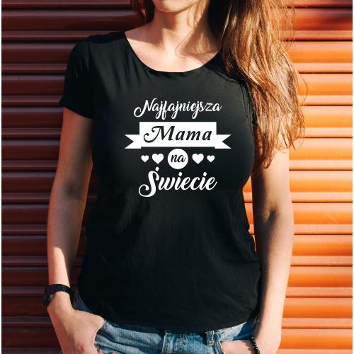 T-shirt lady NAJFAJNIEJSZA MAMA