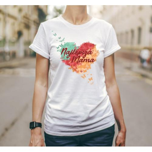 T-shirt lady Najpiękniejsza mama