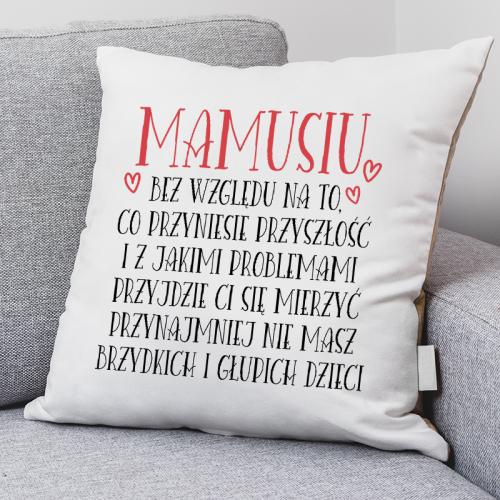 Poduszka druk Mamusiu