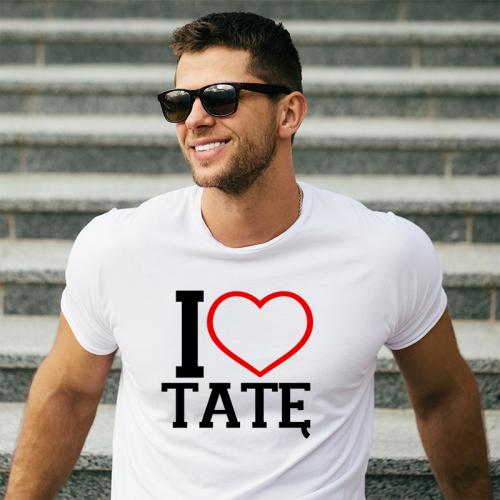 T-shirt oversize Kocham Tatę