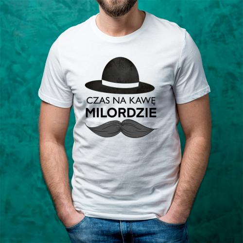 T-shirt oversize Czas na...
