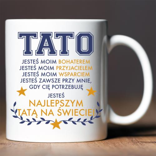 Kubek z nadrukiem Tato...