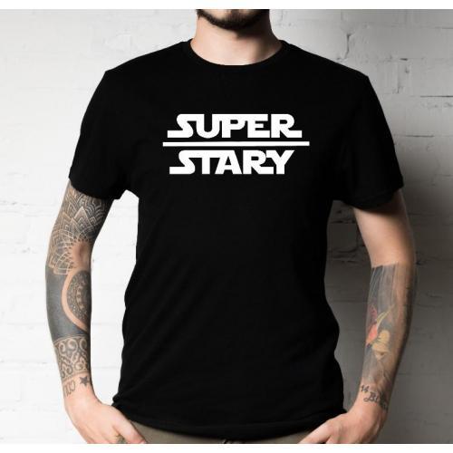 T-shirt oversize Super stary