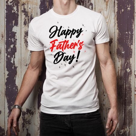 T-shirt oversize Happy Father's Day