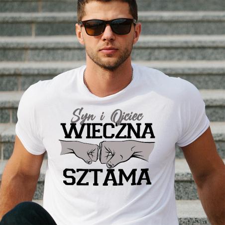 T-shirt oversize Jeśli Wieczna Sztama Syn i Ojciec 2