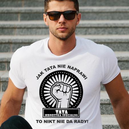 T-shirt Oversize Tata Jednostka Specjalna 2
