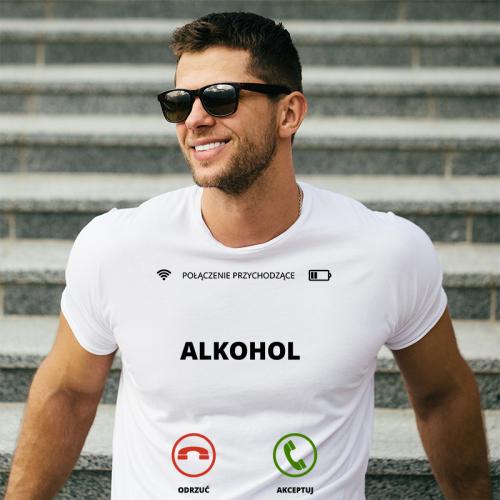 T-shirt oversize DTG Alkohol