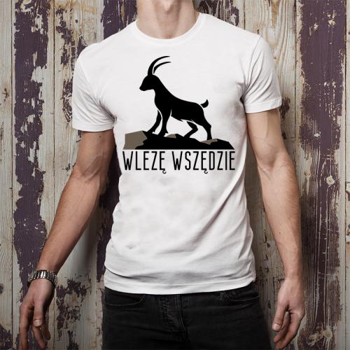 T-shirt oversize DTG Wlęzę...