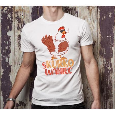 T-shirt oversize DTG S kurko waniec