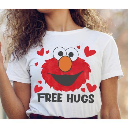 T-shirt lady slim DTG Free...
