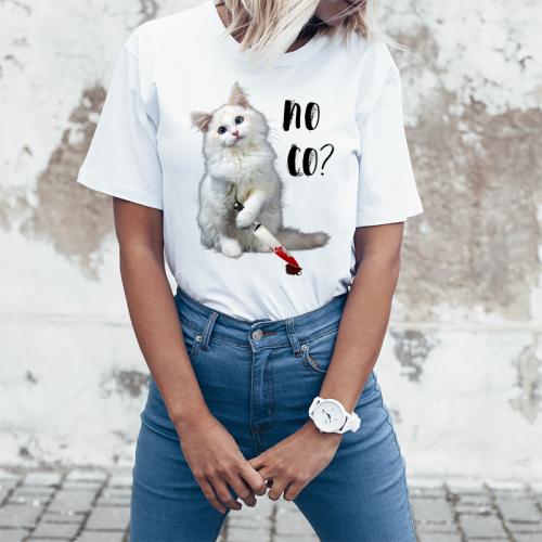 T-shirt lady slim DTG No co? 2
