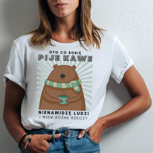 T-shirt lady slim DTG Oto...