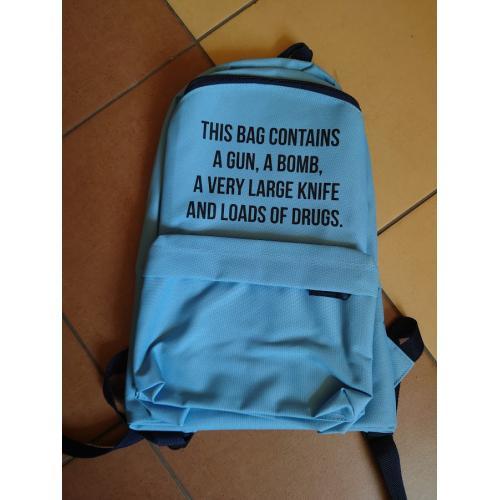 Plecak owal This bag...