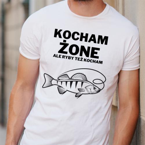 T-shirt oversize DTG Kocham...