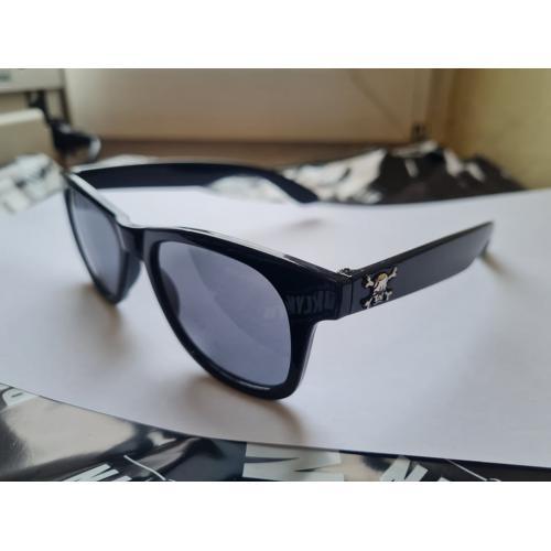 okulary nerdy czaszka black...