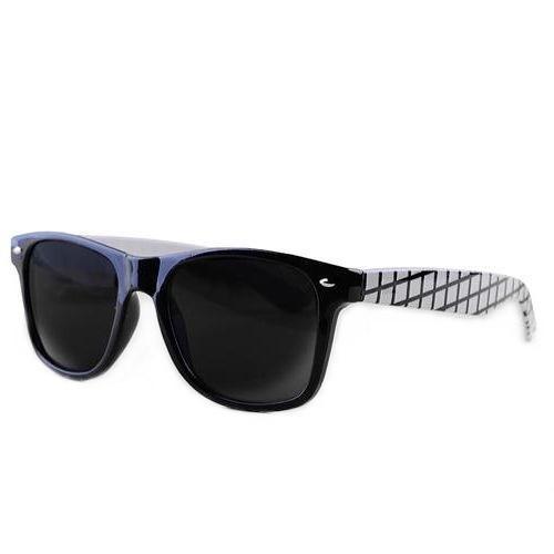 okulary przeciwsłoneczne wayfarer /kratka czarna/