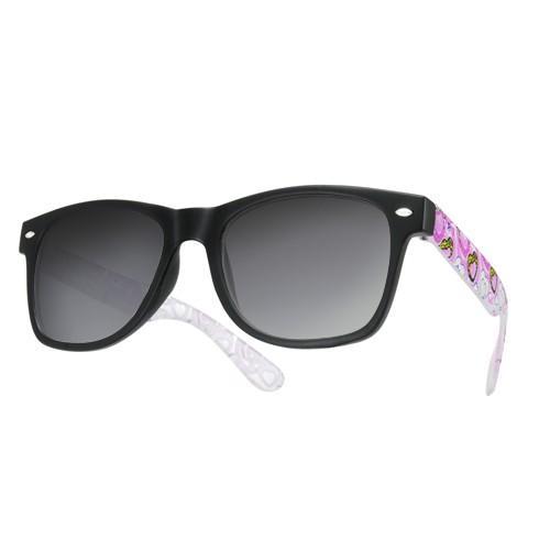 okulary przeciwsłoneczne wayfarer /serca różowe/