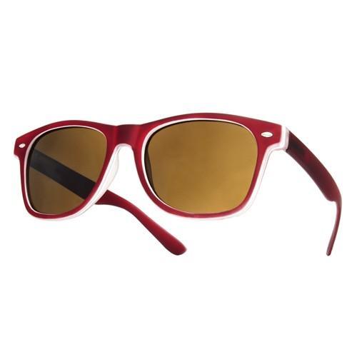 okulary przeciwsłoneczne Rubbi /bordowe/