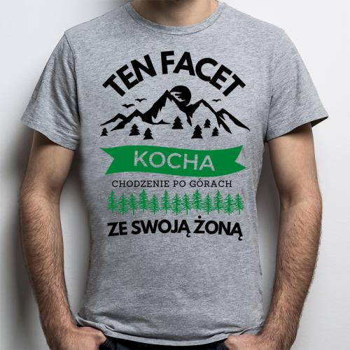 T-shirt Oversize Szary  ...