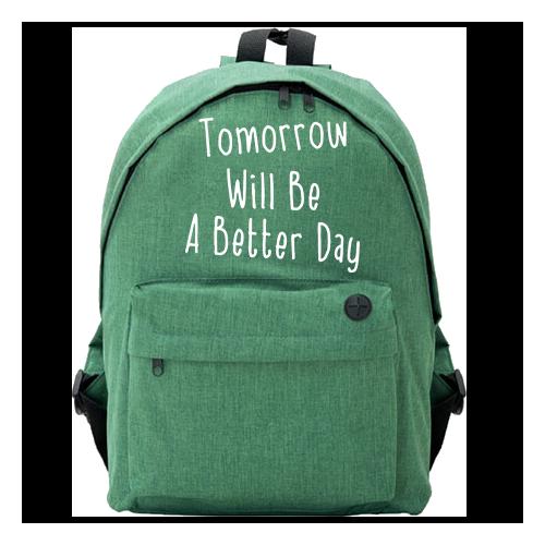 Plecak Owal | Tomorrow Will...