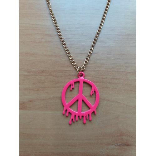 naszyjnik Peace Pink [outlet]