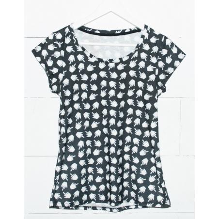 T-shirt woman druk PIXEL FUC*