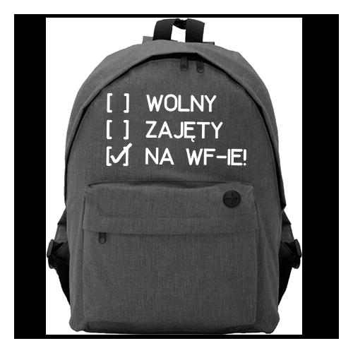 Plecak Owal | Na WF-ie!